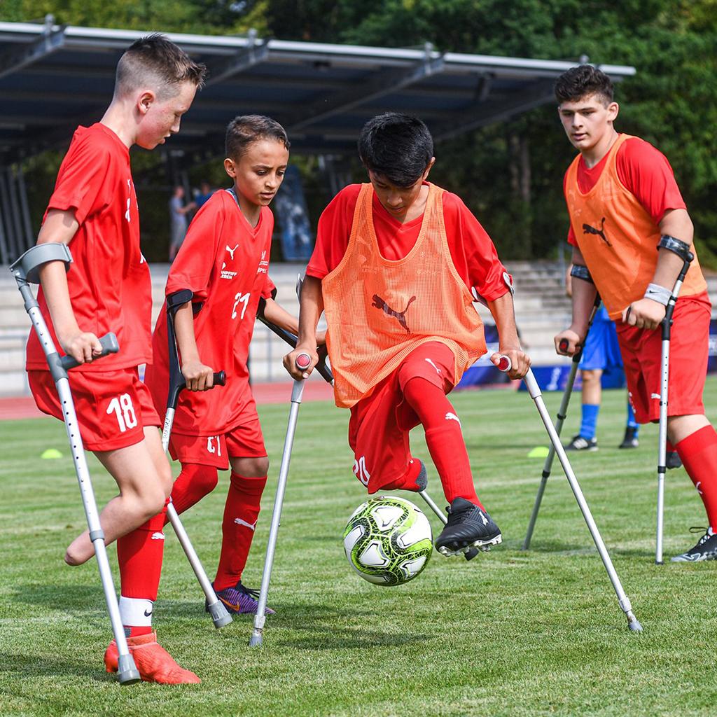Ampute Futbol Uluslararası Junior Kampı Almanya'da Tamamlandı