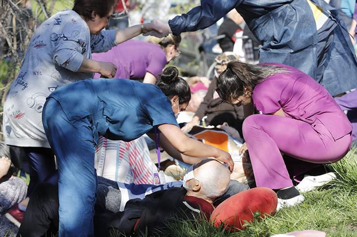 Ankara'da Huzurevinde Korkutan Yangın