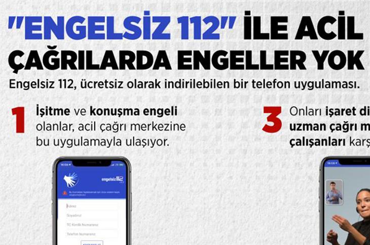 Engelsiz 112 Uygulamasına İhtiyaçlar Bildirilecek
