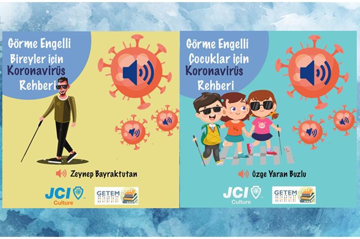 JCI Kültür Görme Engellilere Koronavirüs Rehberi Hazırladı