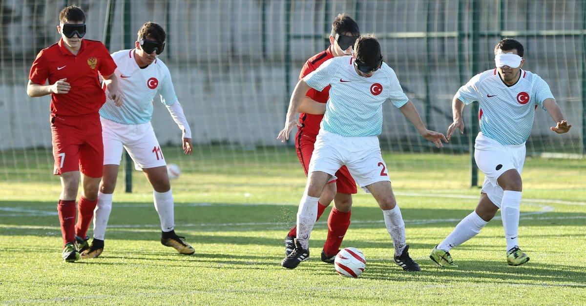 Antrenörler Niyazi Metin ve Mustafa Erdoğan 'Görme Engelli Futbolu' Kitabı Yazdı