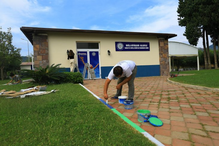 Muğla Büyükşehir Belediyesi Marmaris'te 'Kısa Mola Merkezi' Açıyor