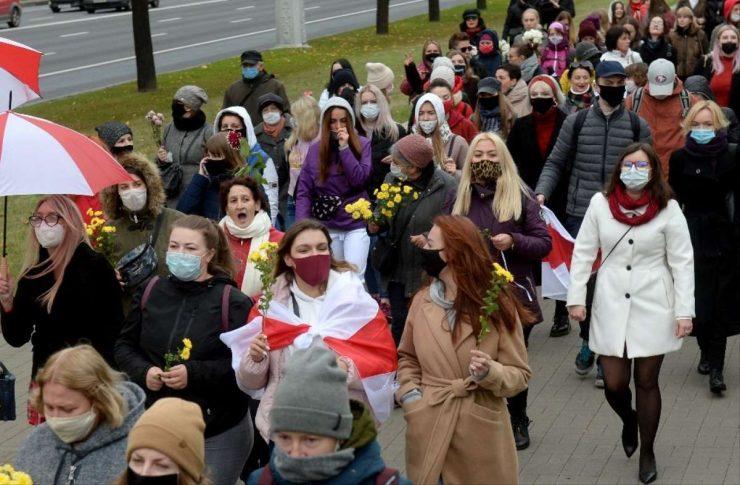 Belarus'ta Engelliler Devlet Başkanı Lukakeşnko Karşıtı Protesto Düzenledi