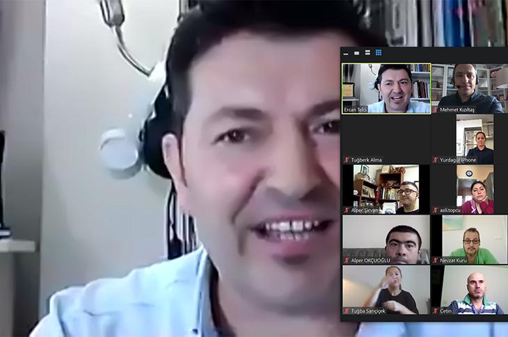 Ercan Telci'nin online satış ve pazarlama eğitimi verirken profil ekran görüntüsü.