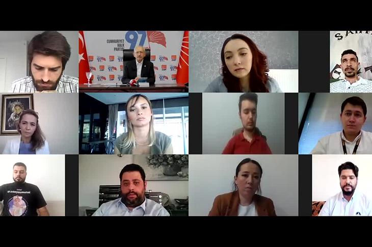 CHP Lideri Kemal Kılıçdaroğlu SMA Hastalığı Dernekleri ile Görüştü