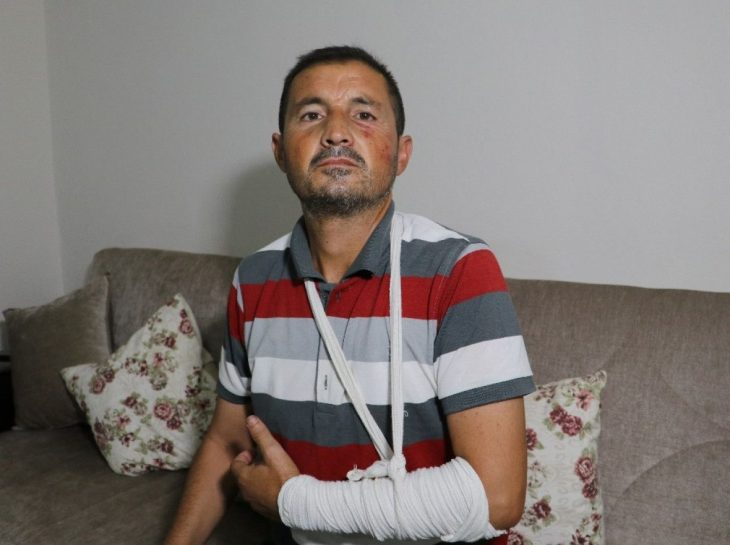 Adana'da İşitme Engelli Tekmelerle Yolun Ortasında Feci Şekilde Dövüldü