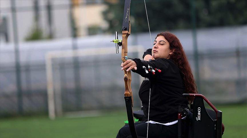 Engelli Okçu Miray Vildan Sakallı Hayatına Yeniden Hedefler Koydu