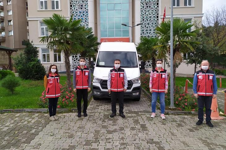 Depremzedelere Destek İçin ASDEP Ekibi İzmir'de