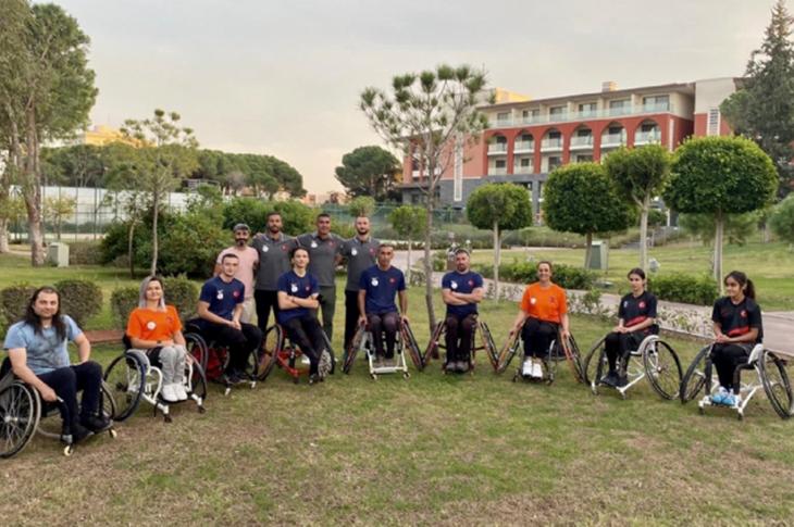 Alanya ve Haydarpaşa Open Tekerlekli Sandalye Tenis Turnuvası Düzenlendi