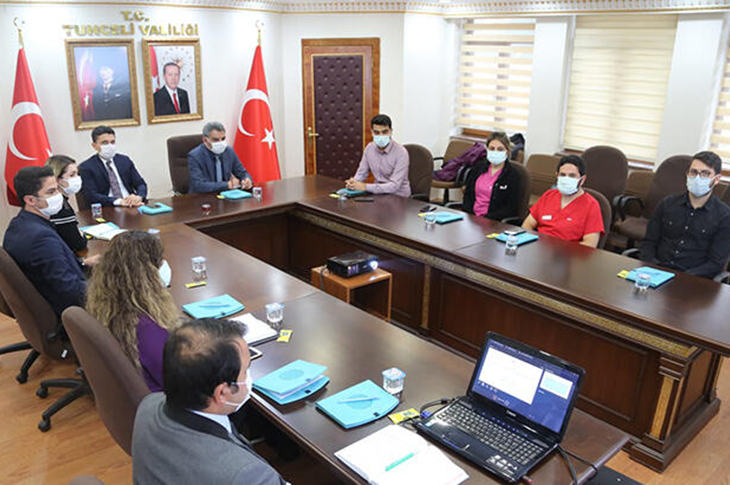 Tunceli'de Koronavirüs Nedeniyle Engelli Personele İdari İzin