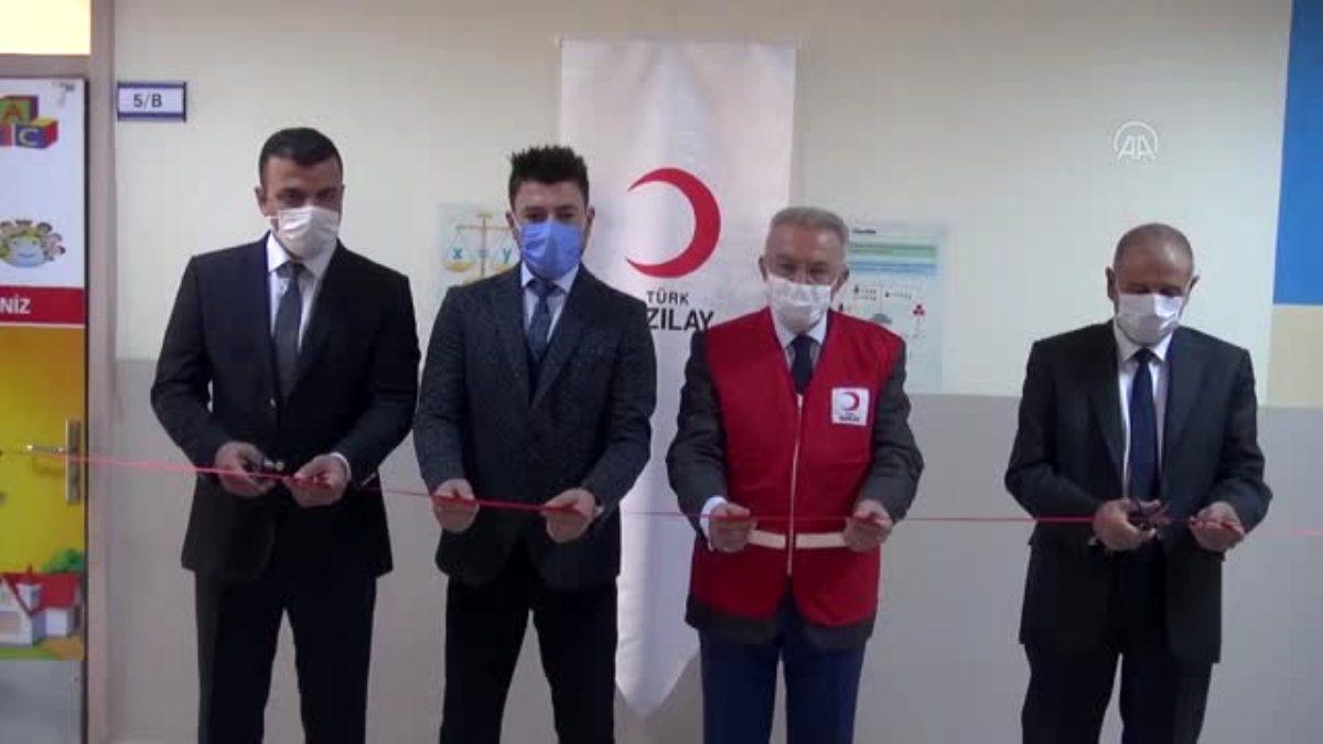 Şanlıurfa'nın Siverek İlçesinde Türk Kızılayı Özel Eğitim Sınıfı Açtı