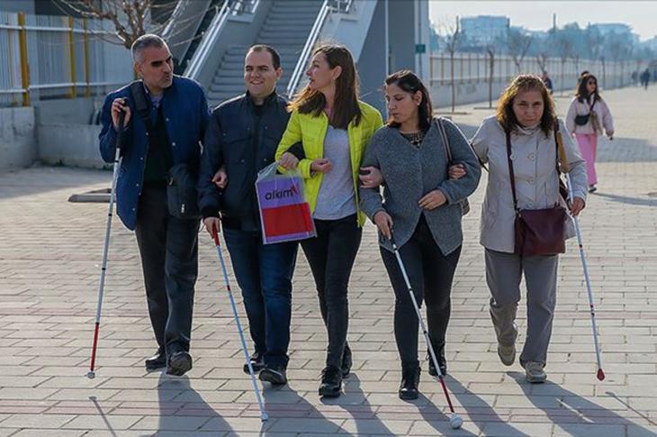 """Salgında """"Engelli Kadınlara Yönelik Hak İhlalleri Raporu"""" Hazırlandı"""