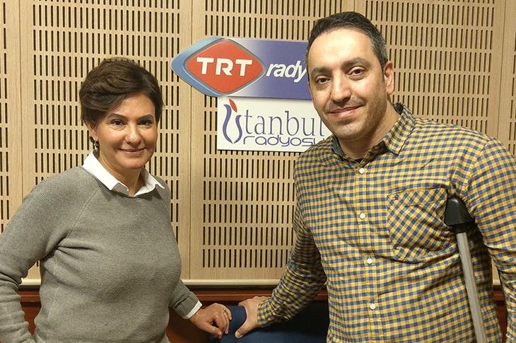 Mehmet Kızıltaş TRT1 Radyo'da Ebru Erkekli'nin Konuğu Oldu