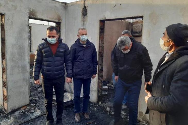 Amasya'da Çıkan Yangında Zihinsel Engellinin Üzen Ölümü