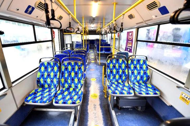 Ankara'da Yaşlılar ve Engellilere Özel Otobüs Koltukları Ayrıldı