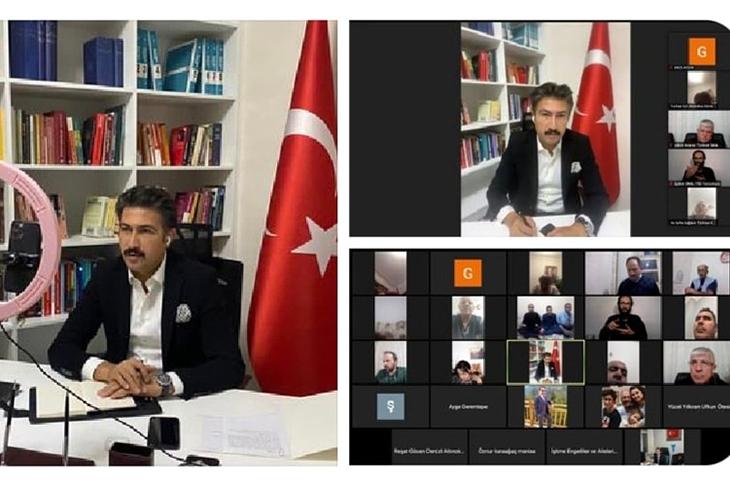 Denizli Milletvekili Cahit Özkan ile Engelli STK Temsilcileri Toplantı Gerçekleştirdi