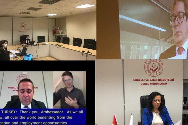 Engellilerin Haklarına İlişkin Sözleşmesi'nin 13. Taraf Devletler Konferansı Gerçekleşti