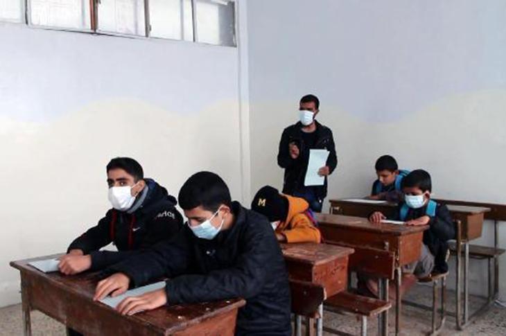 İdlib Görme Engelliler Okulunda Eğitim Savaşı Veriliyor