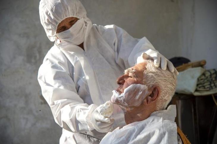 Mersin'de Evde Bakım Hizmetleri Devam Ediyor