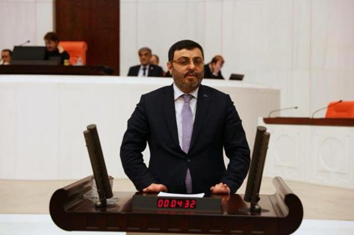 AK Partili Engelli Milletvekili Serkan Bayram'dan Meclis'te Alkış Alan Konuşma