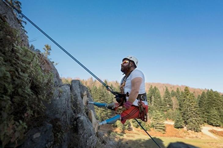 Engelli Rekortmen Ufuk Koçak Everest Dağına Tırmanacak