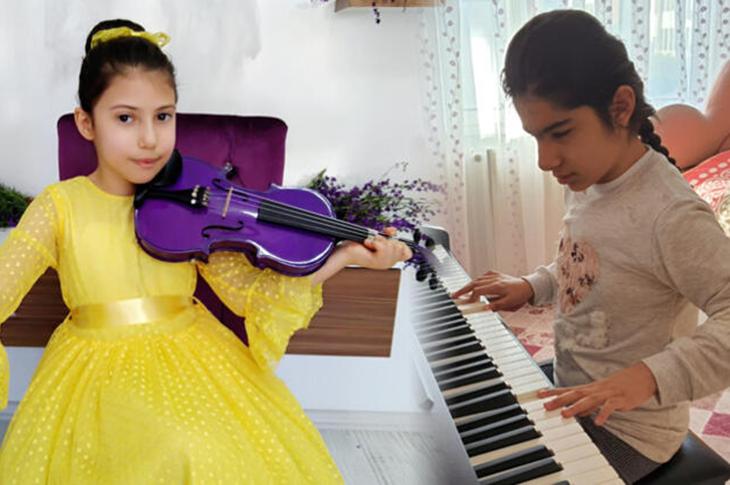 Genç Yetenekler Müzik Yarışmasında Tatlı Rekabet