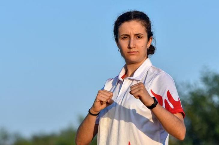 Engelli Tekvandocu Nazlı'nın Hedefi Olimpiyat Madalya