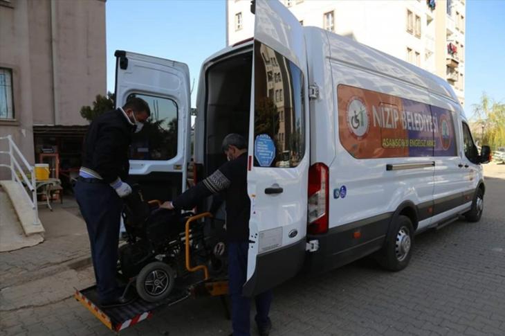 Nizip'te Engelli Araçlarına Bakım Kolaylığı
