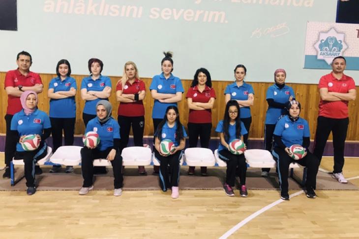 Kadın Oturarak Voleybol Takımı İlk Kampına Başladı