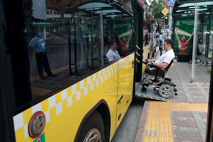 Engelli Ulaşımında Erişilebilir Eylem Planı Hazırlandı