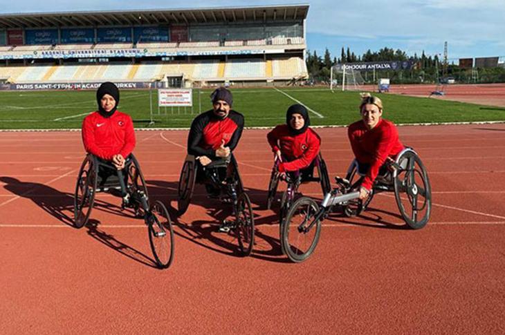Engelli Milli Atletler Dubai Yolcusu