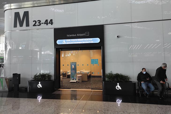 """İstanbul Havalimanı'nda """"Özel Yolcu Hizmet Noktaları"""" Oluşturuldu"""