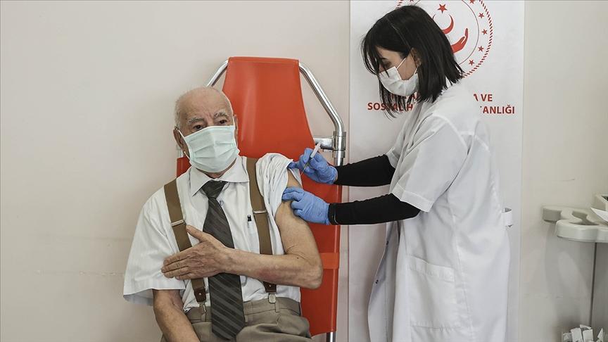 Bakım Kuruluşlarında 2'nci Doz Aşı Uygulanmasına Başlandı