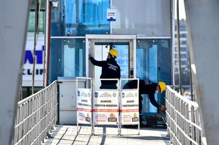 Ankara'da Asansörler Artık Daha Güvenli