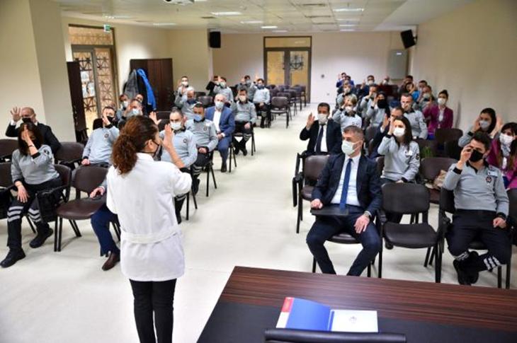 Bursa Büyükşehir'den İşaret Diliyle Güvenlik Hizmeti
