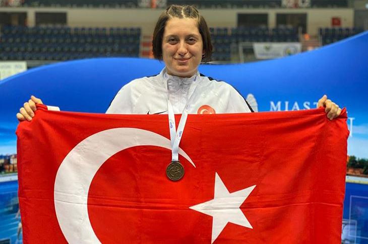 Fatma Damla Altın Avrupa Şampiyonu Oldu
