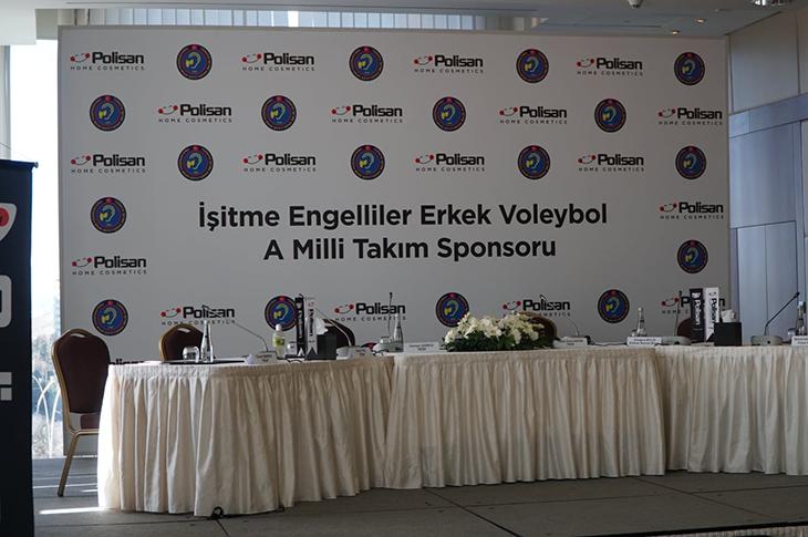 Türkiye İşitme Engelliler Spor Federasyonu'na Yeni Sponsor