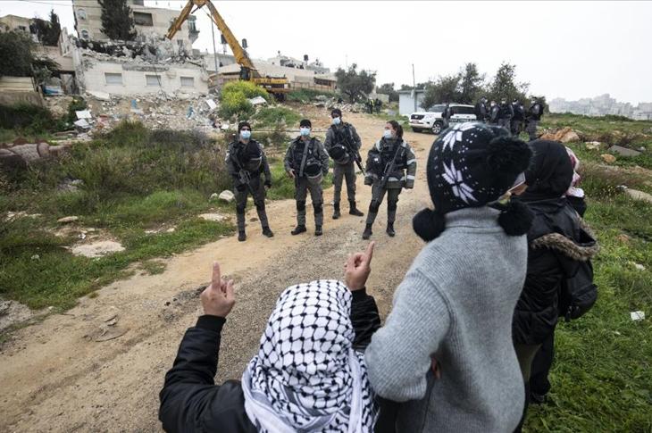 İsrail Güçleri Kudüs'te Engellinin Evini 6'ncı Kez Yıktı