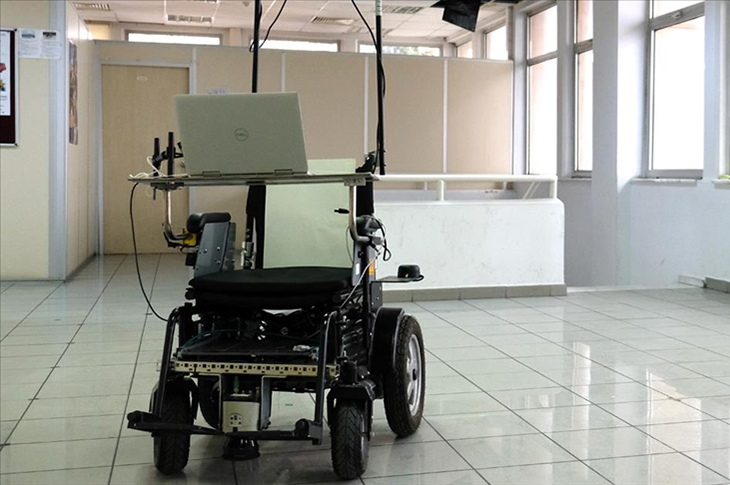 İTÜ'de Yapay Zekaya Sahip Tekerlekli Sandalye Geliştirildi