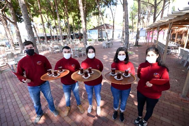 Muratpaşa'da Engelsiz Kafe Yeniden Açıldı
