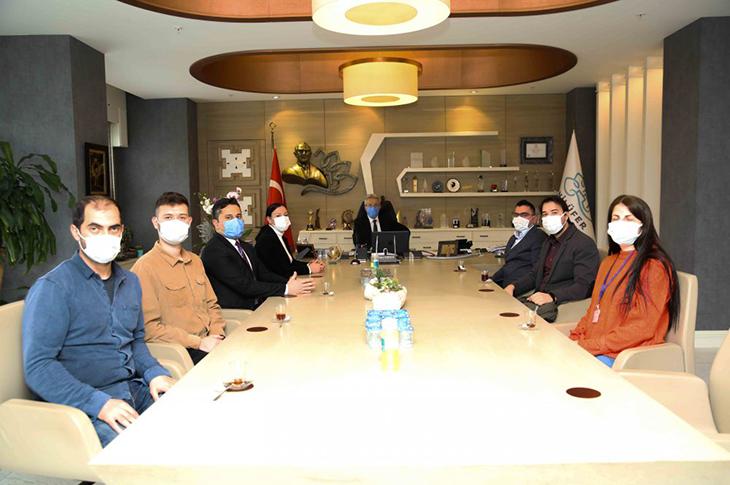 Nilüferli EKPSS Kursiyerlerinden Başkan Erdem'e Teşekkür