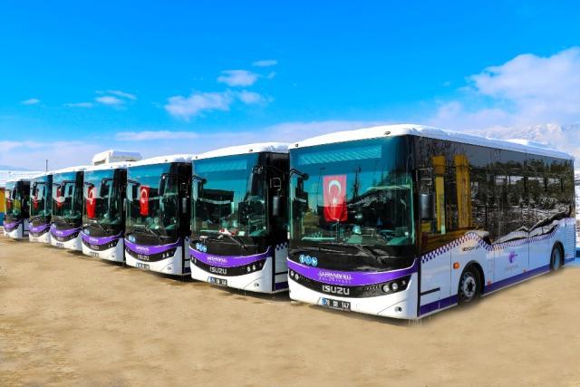 Safranbolu'da Yeni Nesil Halk Otobüsleri Hizmete Başladı