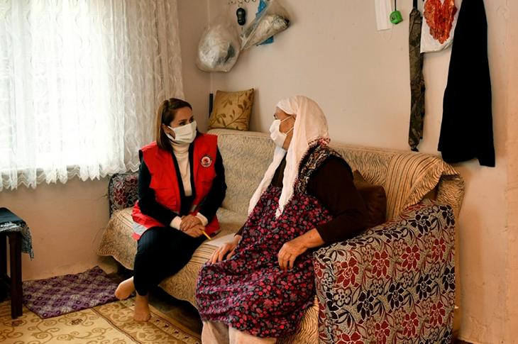 """Samsun'da Engelli Ailelere """"Kartlı"""" Yardım"""
