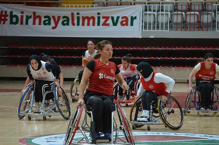 Milli Kadın Basketbol Takımı'nda Hedef Paris Oyunları