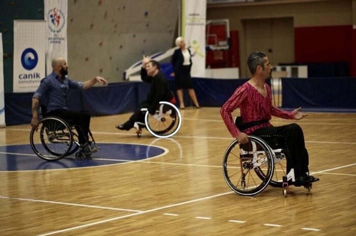 Tekerlekli Sandalye 4. Dans Şampiyonası Antalya'da Düzenlenecek