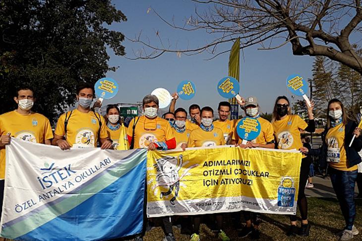 Runatolia Maratonunda Adımlar Otizmli Çocuklar İçin Atıldı