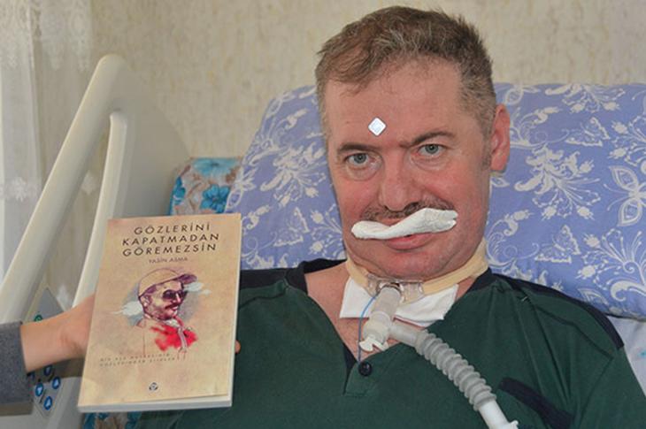 ALS Hastası Yasin Asma Gözleriyle Kitap Yazdı