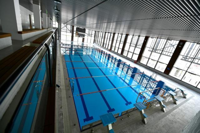 Bornova'da Olimpik Yüzme Havuzu Tamamlandı