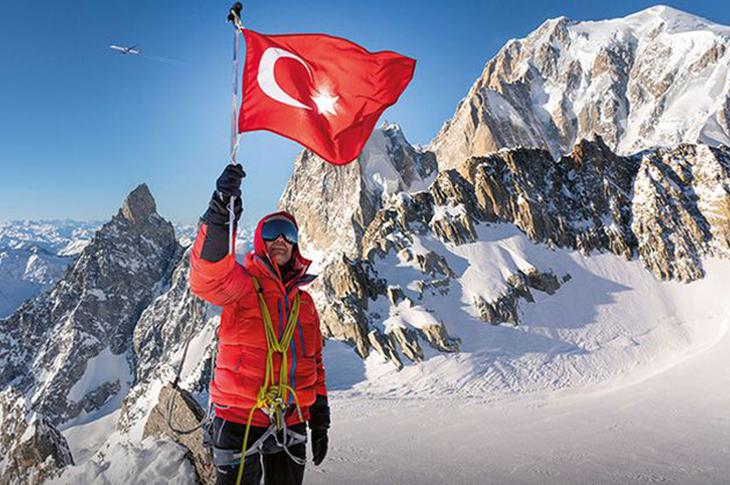 Dağcı Necdet Turhan Sınır Tanımıyor!