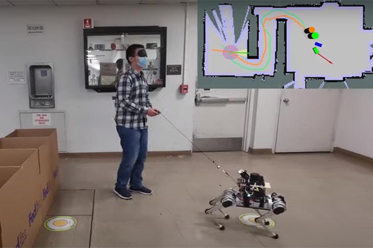 Robot Rehber Köpekler Geliştirildi